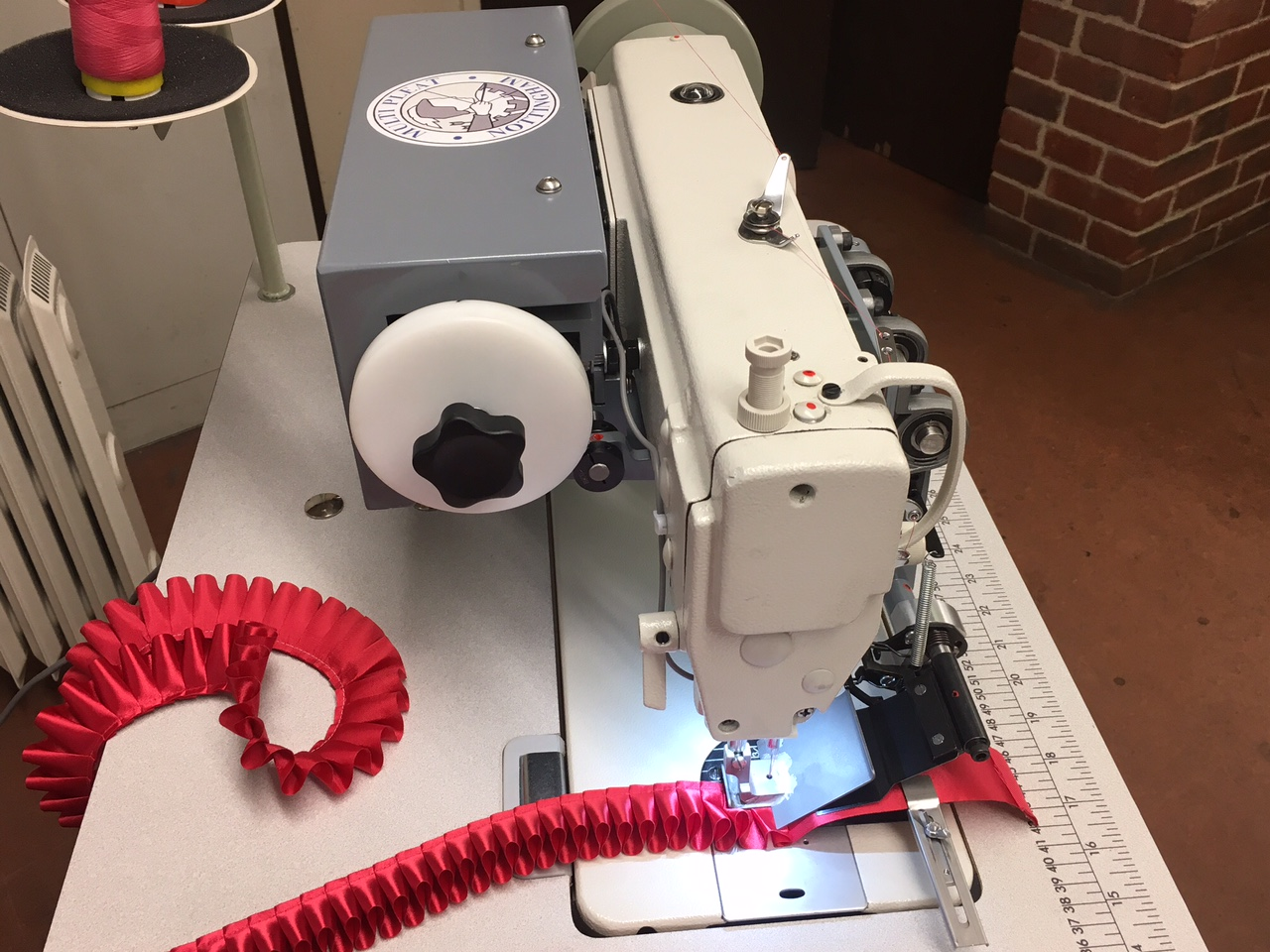 Multipleat B746 mk II pleating machine for rosettes