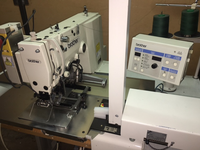 Eisenkolb PFA-2000L pinch pleat machine
