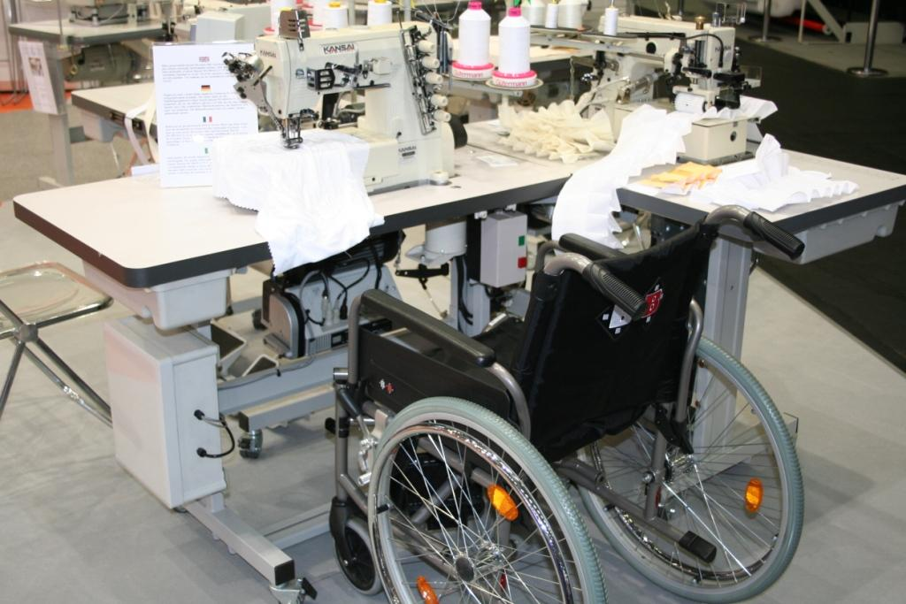 Machine control system for disabled operator
