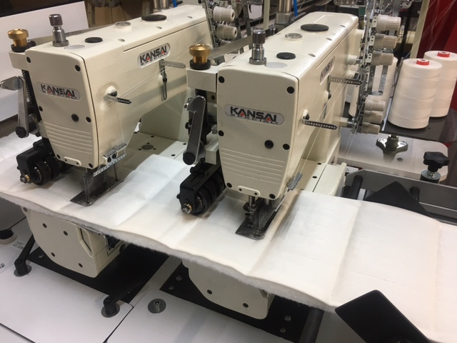 Kansai Special FBX-1112P-ATM High speed tandem machine for mattress borders