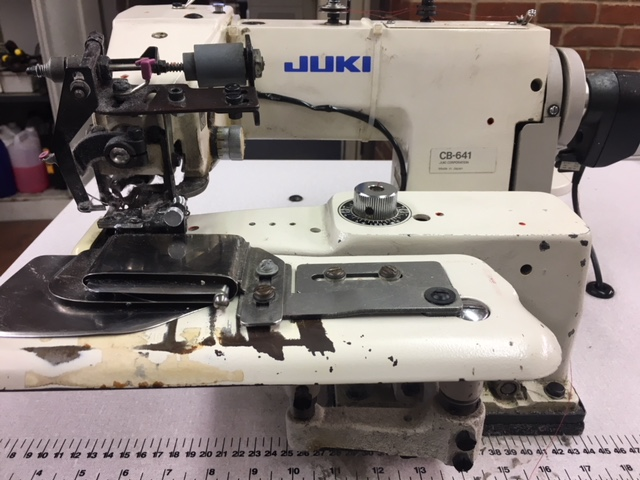 Juki CB-641 blindstitch with thread trimmer