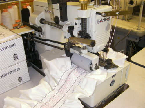 Kansai Special DFB-1012PS-SM shirrer smocker machine